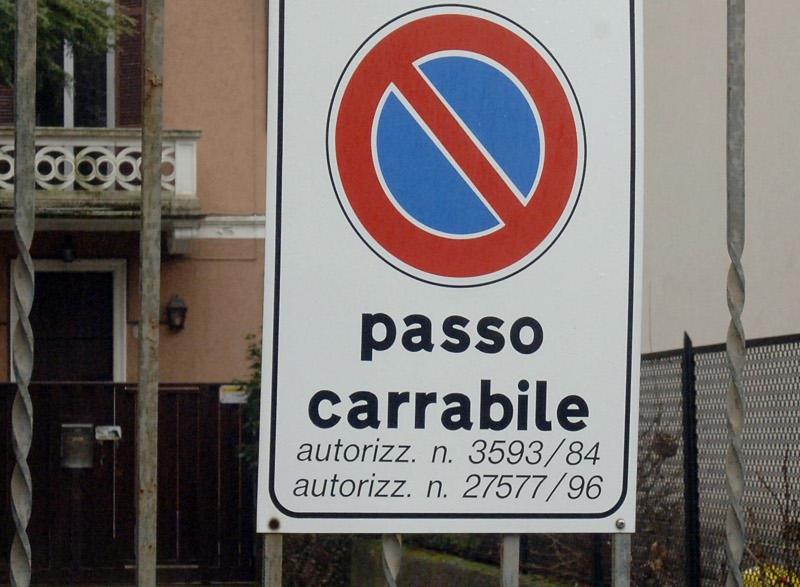 passo-carrabile