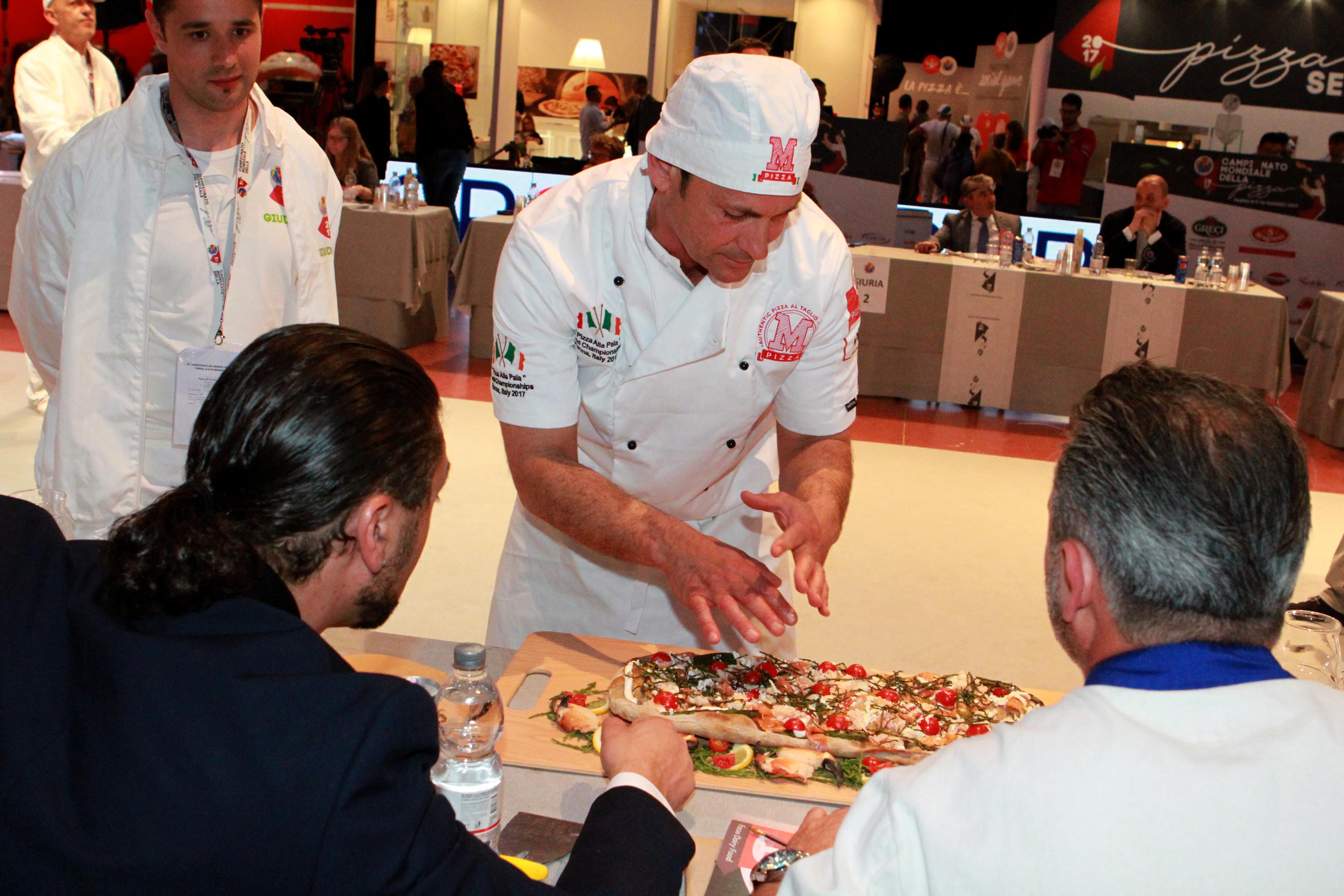 E 39 tornato il campionato mondiale della pizza a parma for Fiera parma 2017