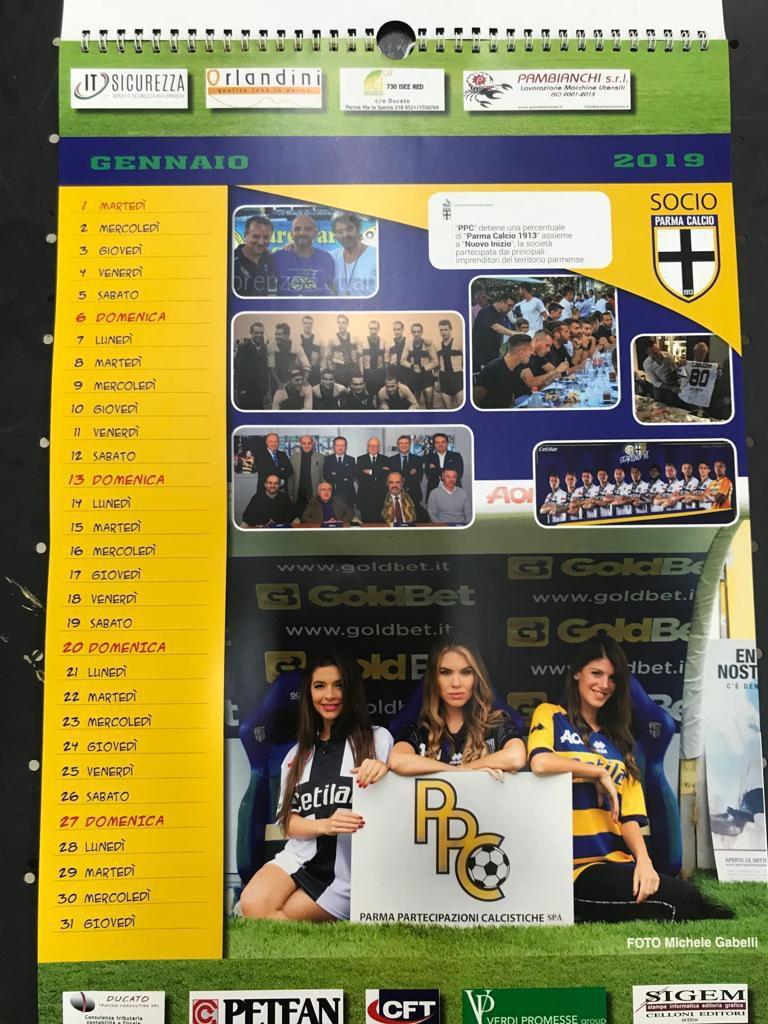 Calendario Sportivo.La Piu Bella Di Parma Protagonista Del Calendario Di Parma